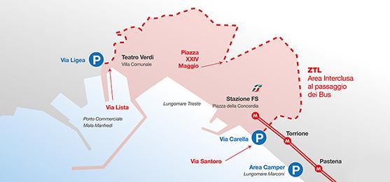 Area ZTIL Salerno